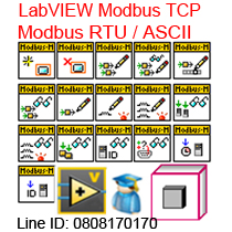 Labview Modbus RTU/ASCII,TCP,Learning Course